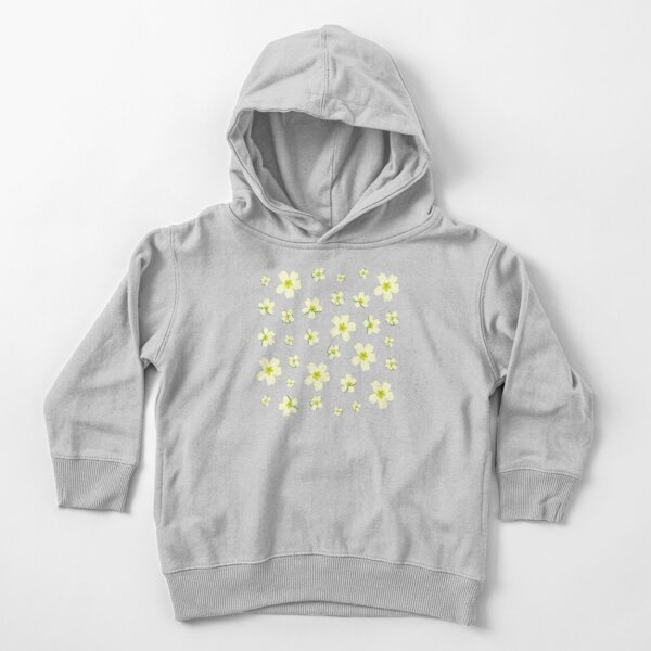 Portuguese Flowers - Green (variations) Toddler Pullover Hoodie