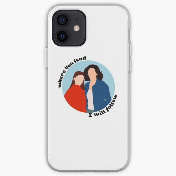 where you lead, I will follow iPhone Soft Case