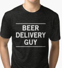 Beer Delivery Guy Tri-blend T-Shirt