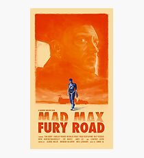 Mad Max: Fury Road Photographic Print