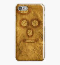 ©DA On Wood Cover iPhone Case/Skin