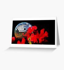 garden disco Greeting Card