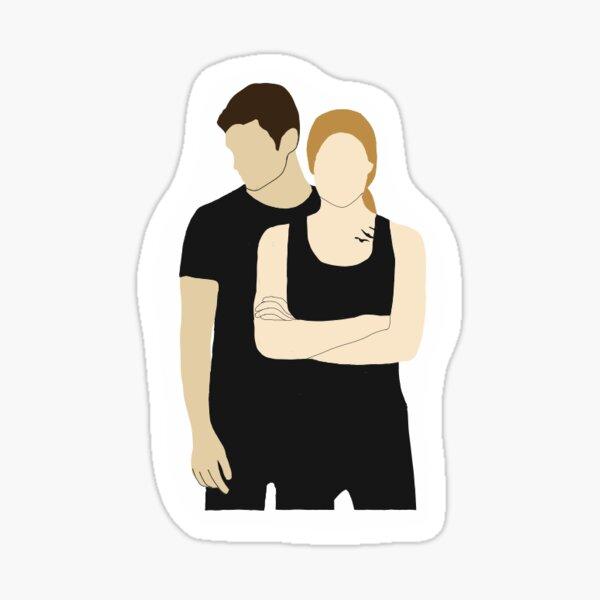 Tris und vier Sticker