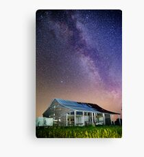 There is something in the air tonight. Canvas Print