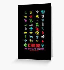 Chaos Greeting Card