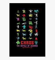 Chaos Photographic Print