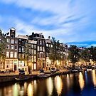 Amsterdam canals by Colin White