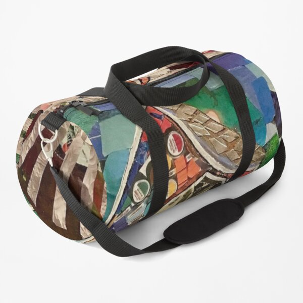 Don Quixote Collage Duffle Bag