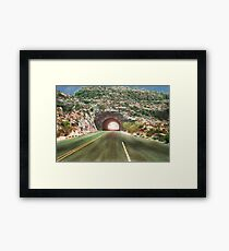 Cross Over to the Other Side Framed Print