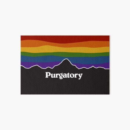 Purgatory Pride Rainbow Sunset - Wynonna Earp Art Board Print