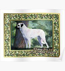 Anatolian Shepherd Christmas Poster