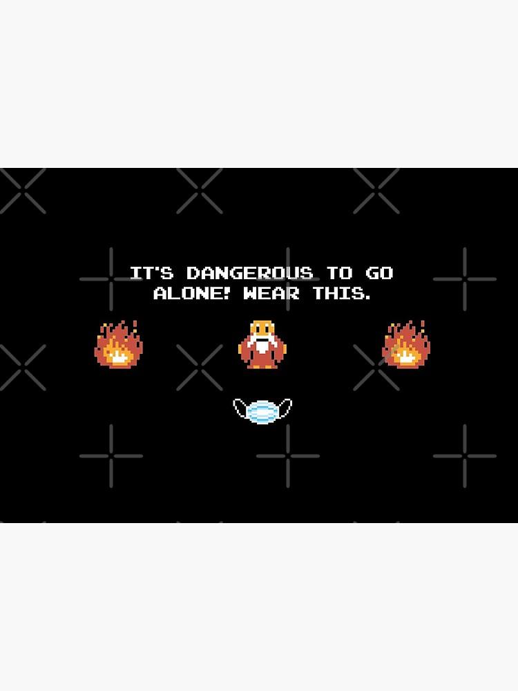 ¡Es peligroso ir solo! Zelda -Diseño de Máscaras- de DriXxArt