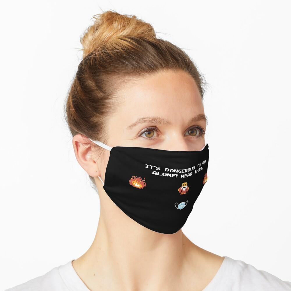 ¡Es peligroso ir solo! Zelda -Diseño de Máscaras- Mascarilla