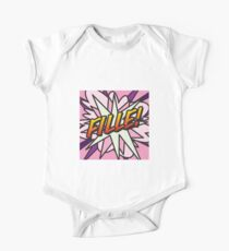 Comic Book FILLE! Kids Clothes