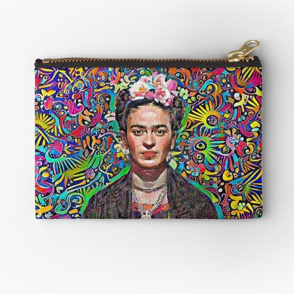 Mexican handcraft Frida Zipper Pouch