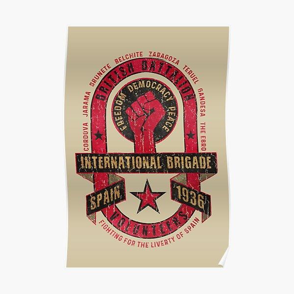 International Brigade - British Battalion V02 Poster