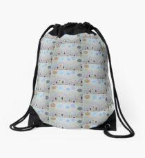 Serenity by Diamante Lavendar Drawstring Bag