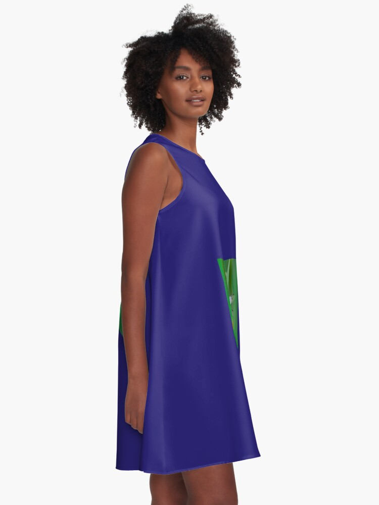 Alternate view of  Dragonflies of dreams  By Yannis Lobaina A-Line Dress