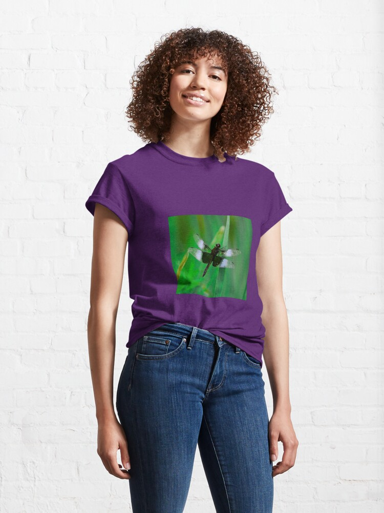 Alternate view of  Dragonflies of dreams  By Yannis Lobaina Classic T-Shirt