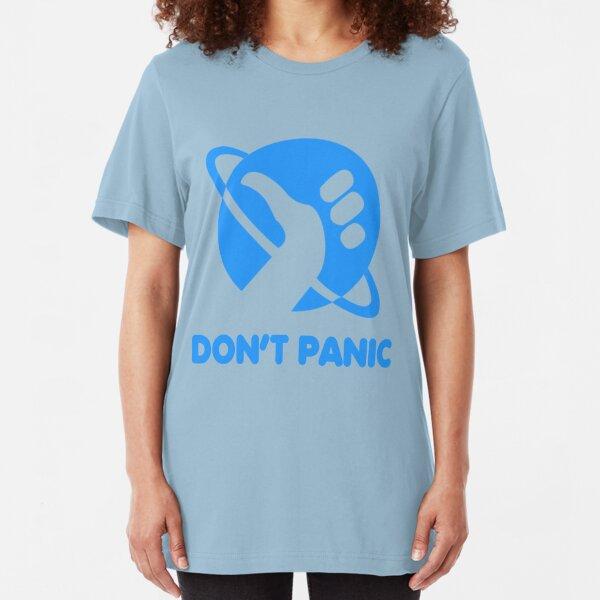 Don't Panic Slim Fit T-Shirt