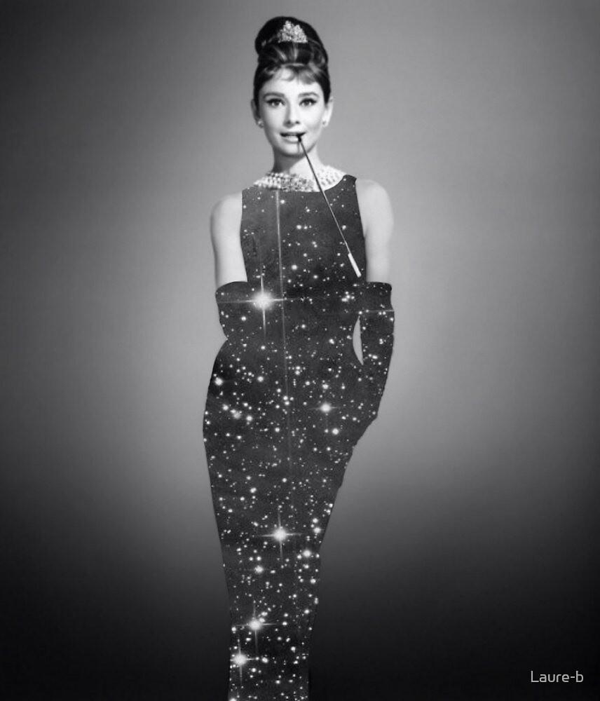 Audrey Hepburn by Laure-b