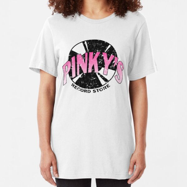 Pinkys Record Store Slim Fit T-Shirt