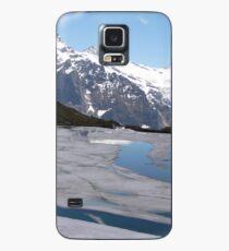 Bachalpesee with Fiescherhornen in the background, Switzerland Case/Skin for Samsung Galaxy