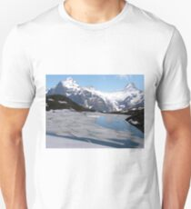 Bachalpesee with Fiescherhornen in the background, Switzerland T-Shirt