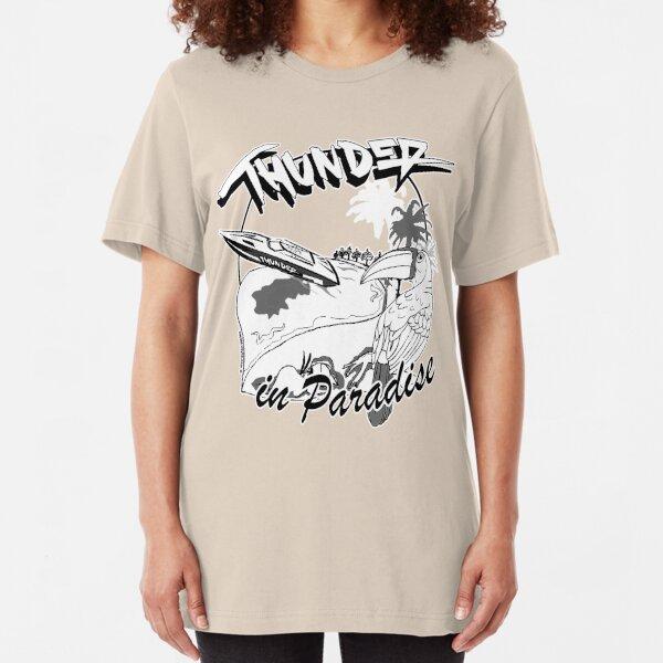 Thunder in Paradise Slim Fit T-Shirt