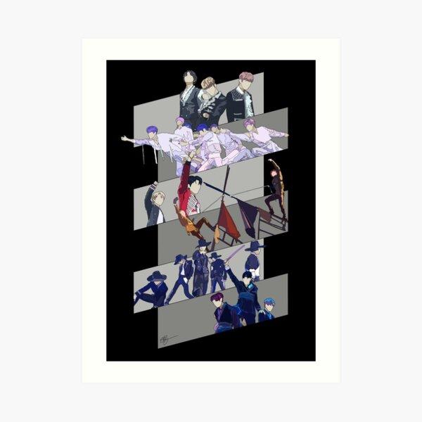 THE BOYZ (더보이즈) ○ Road to Kingdom Art Print