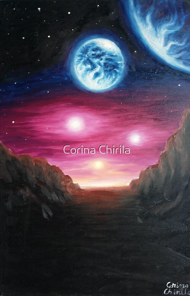 Gliese 667Cc exoplanet by Corina Chirila