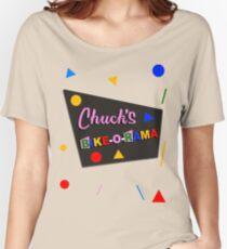 Chuck's Bike-O-Rama Women's Relaxed Fit T-Shirt