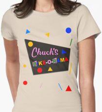 Chuck's Bike-O-Rama Women's Fitted T-Shirt