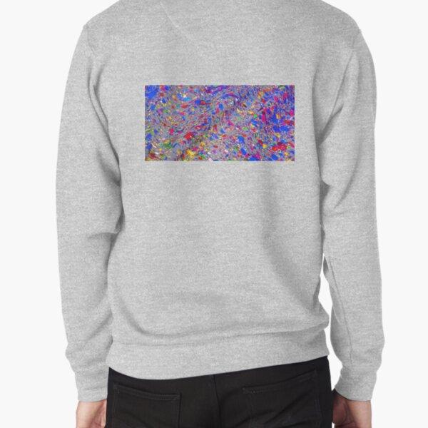 Splatter Pullover Sweatshirt