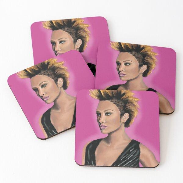 She Mohawk Coasters (Set of 4)