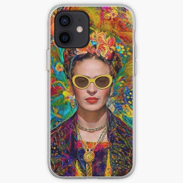 Gafas de sol Frida Funda blanda para iPhone