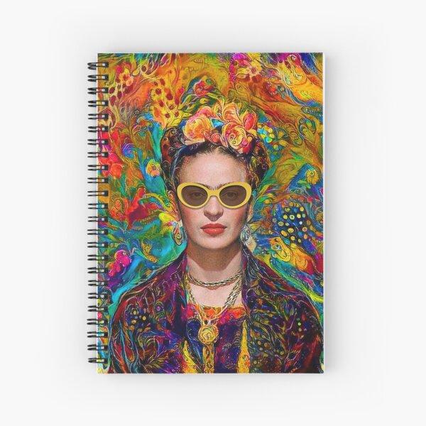 Sunglasses Frida Spiral Notebook