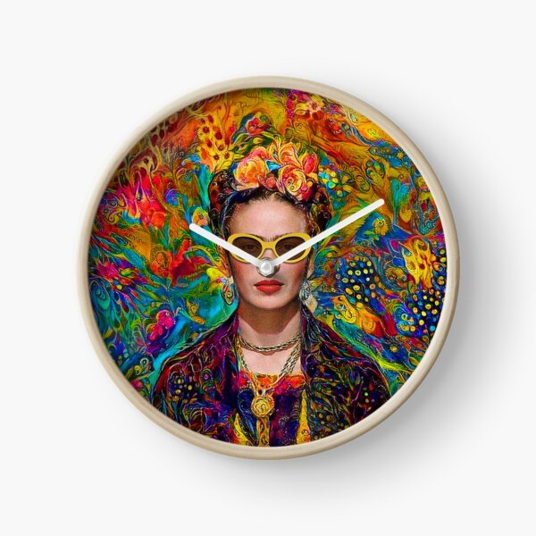 Sunglasses Frida Clock