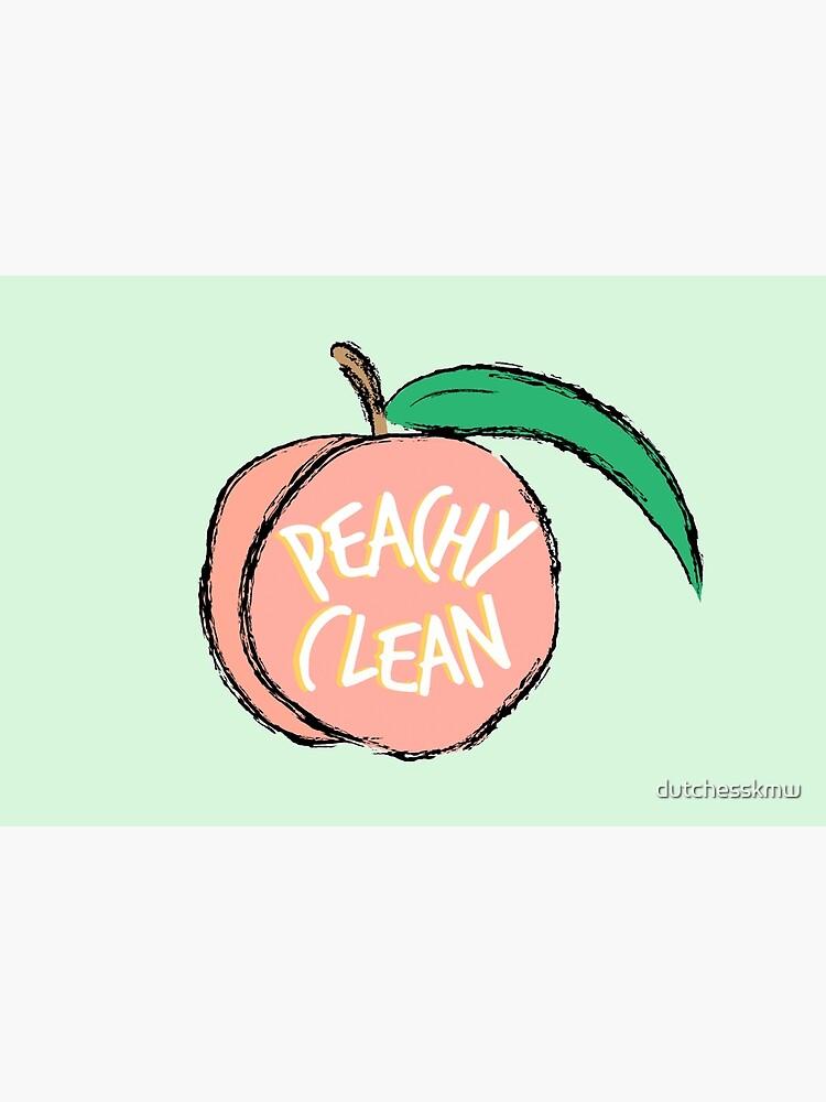 Peachy Clean! by dutchesskmw