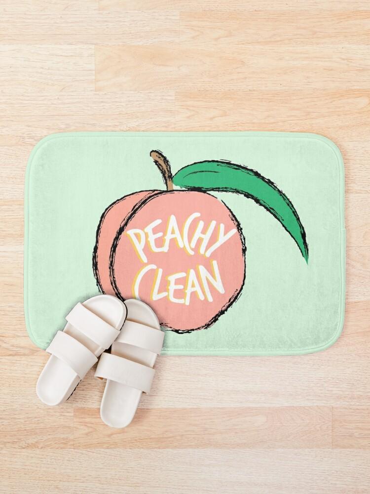 Alternate view of Peachy Clean! Bath Mat