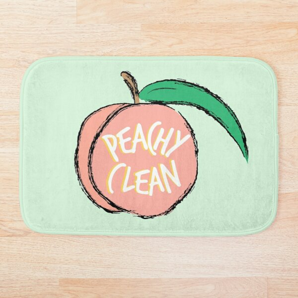 Peachy Clean! Bath Mat