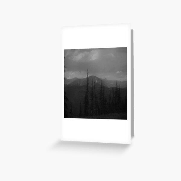Mountain sketch Greeting Card