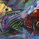 Rainbow Fishes by Goodaboom