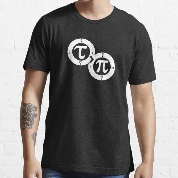 Tau vs Pi (dark) Essential T-Shirt