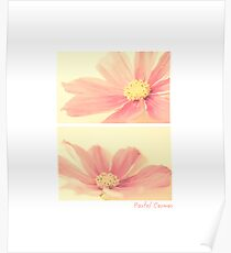 Pastel Cosmos Diptych Poster