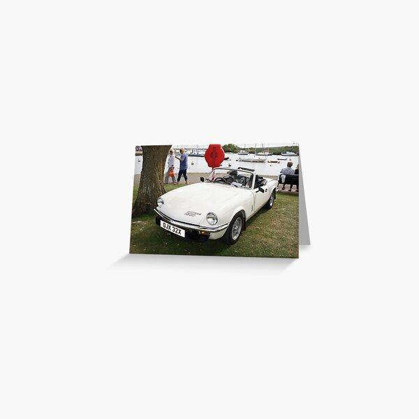Triumph Spitfire 1500 Greeting Card