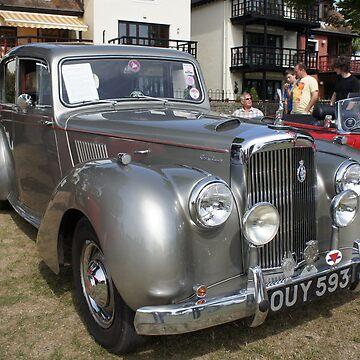 1955 Alvis TC21 Grey Lady Vintage Car by santoshputhran