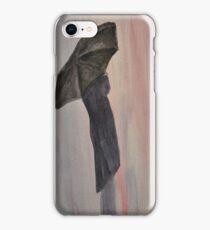 Waiting In The Rain iPhone Case/Skin