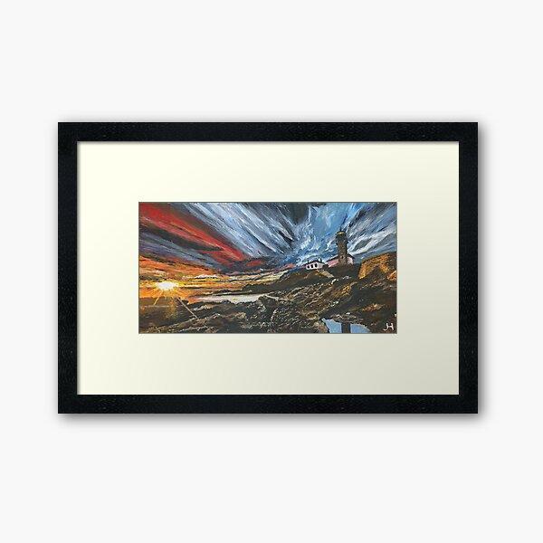 Beavertail Lighthouse Framed Art Print