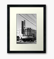 Alexandria Theater Framed Print